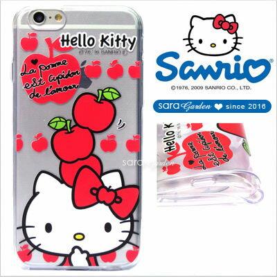 官方授權 三麗鷗 Sanrio Hello Kitty 浮雕 彩繪 iPhone 6 6S Plus Note5 Z5 Z5P A5 A7 A9 手機殼 軟殼 蘋果疊疊樂【D0220177】