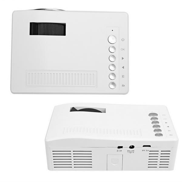 Micro Mini LED LCD Projector Portable Home Cinema Theater Multimedia 4