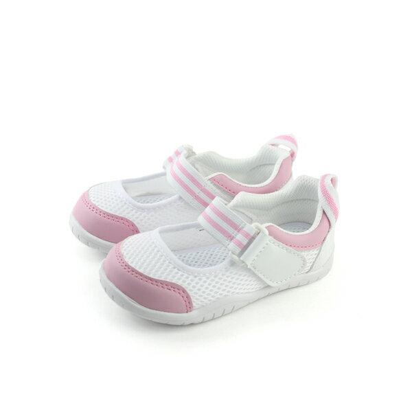 IFME 運動鞋 白色 粉紅 中童 no037