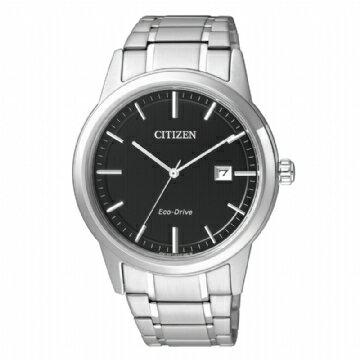 CITIZEN 商務紳士光動能鋼帶腕錶 AW1231-58E