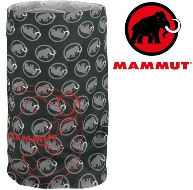 Mammut 長毛象 透氣排汗頭巾 Zion 1090-03591 0136石墨灰