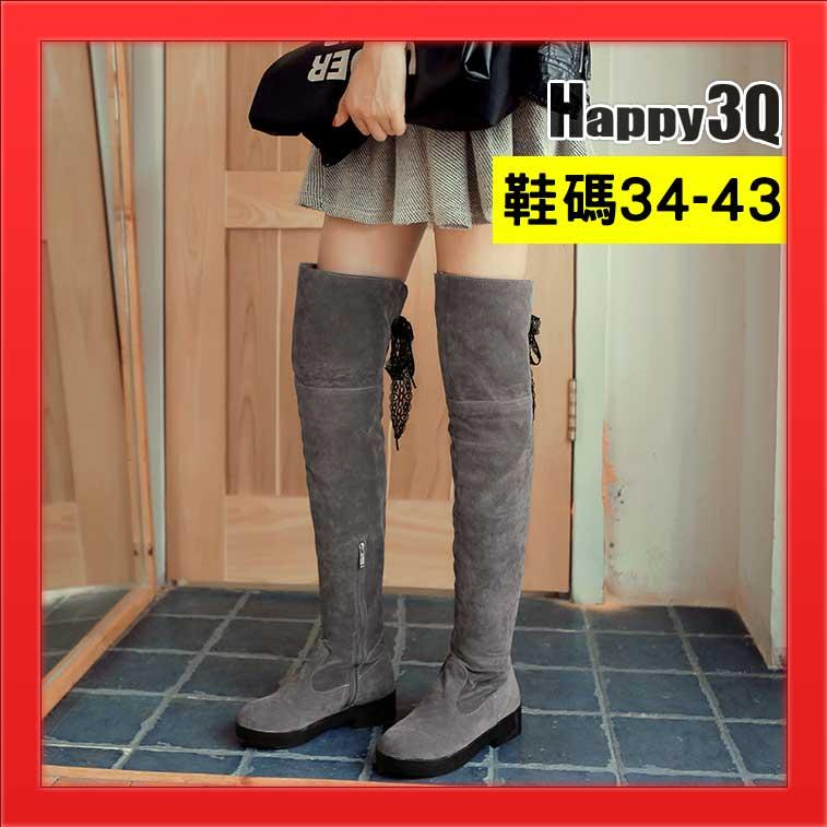 超長靴粗腿大尺碼女靴大腳女鞋過膝靴磨砂霧面側拉鍊流蘇長筒靴-訂製筒圍黃/黑/灰34-43【AAA2776】