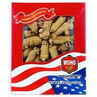 WOHO #132.4 American Ginseng Half Short Medium 4oz Box