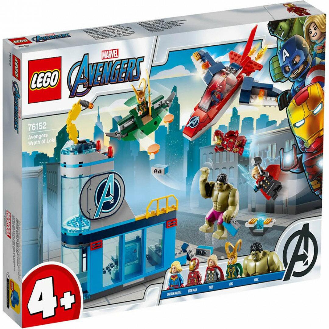 樂高LEGO 76152 SUPER HEROES 超級英雄系列 Avengers Wrath of Loki