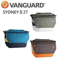 【中壢NOVA-水世界】Vanguard 精嘉 SYDNEY II 27 雪梨二代 撞色 單眼側背包 相機包 一機雙鏡