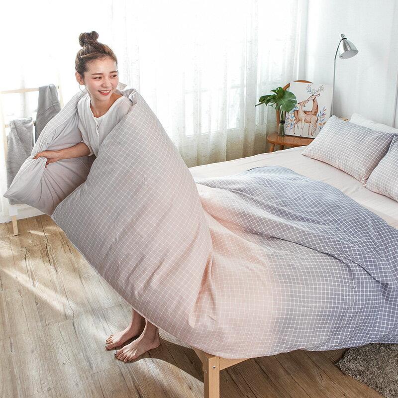 床包 / 雙人【曙光漸影】科技天絲,含兩件枕套,戀家小舖