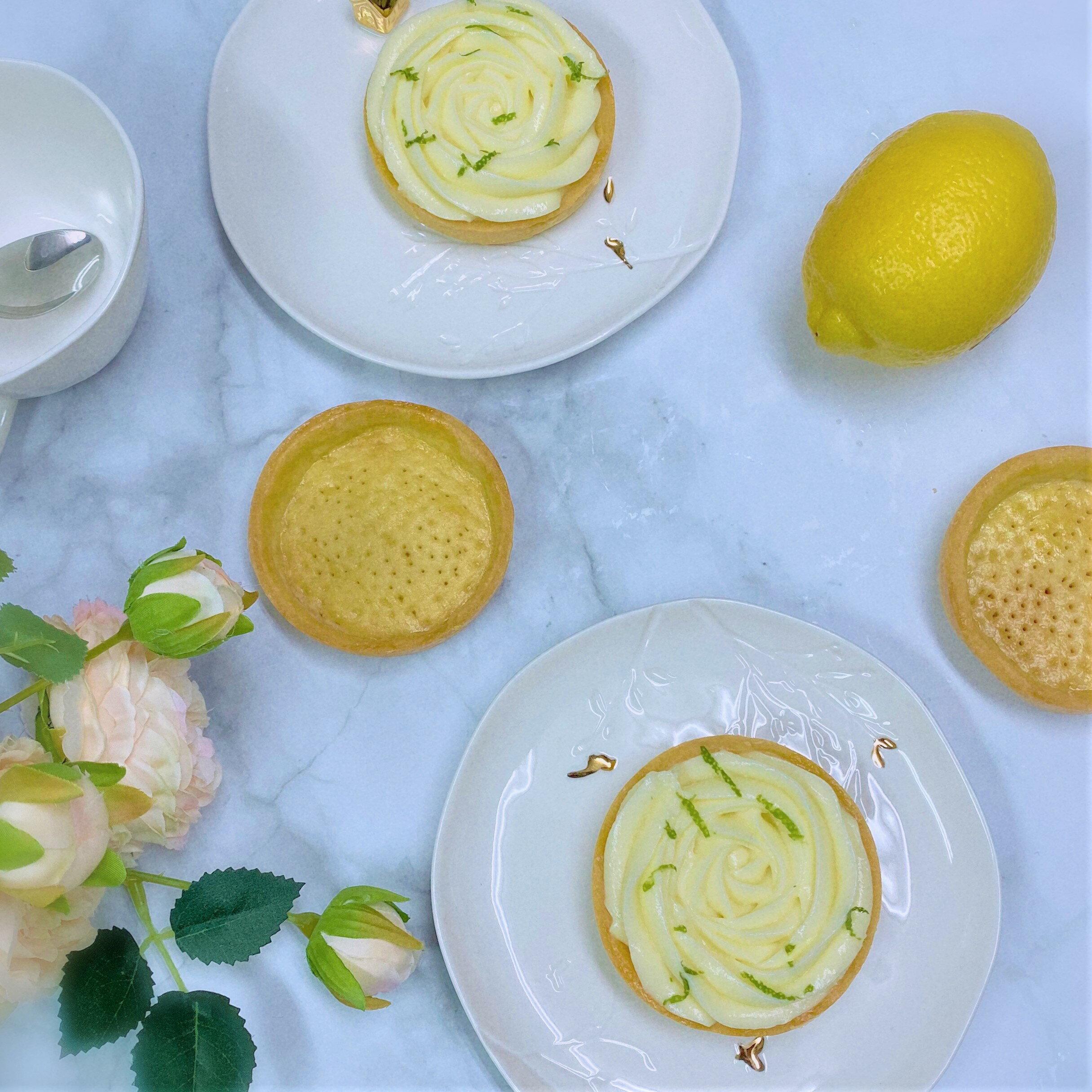 奧斯卡曲奇 Ι 法式檸檬塔 3吋/ 70g/9入/盒 檸檬 塔 甜點 下午茶