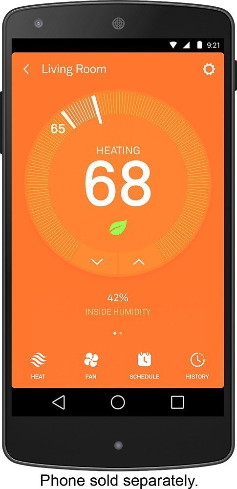 Nest Learning Professional Version 3rd Generation Thermostat, Carbon Black (T3016US) 6