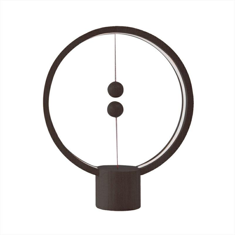 荷蘭 allocacoc Heng衡 LED燈 / 櫸木 / 深色圓形 0