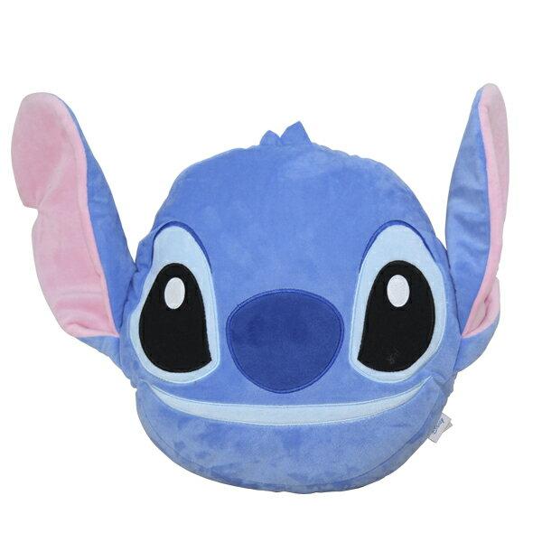 交換禮物 史迪奇 Q版大頭 暖手枕 抱枕 午睡枕 冬天必備 Disney 迪士尼正版授權【蕾寶】