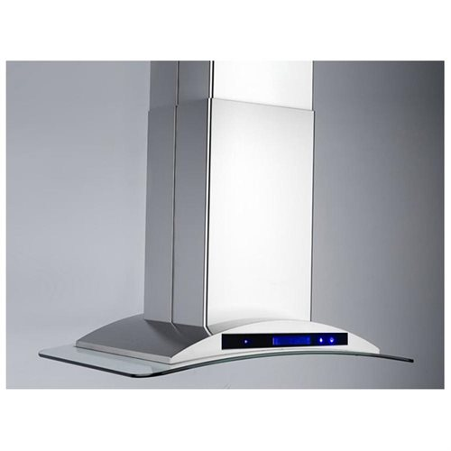 "AKDY 36"" GV-9009-36 Europe Style Stainless Steel Island Range Hood Touch Control 3"