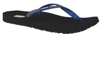 [陽光樂活] TEVA 美國水陸運動品牌 Contoured Ribbon Mush 夾腳拖鞋 - TV4194SDBU 蘇丹藍 零碼出清51折 (尺寸23CM)