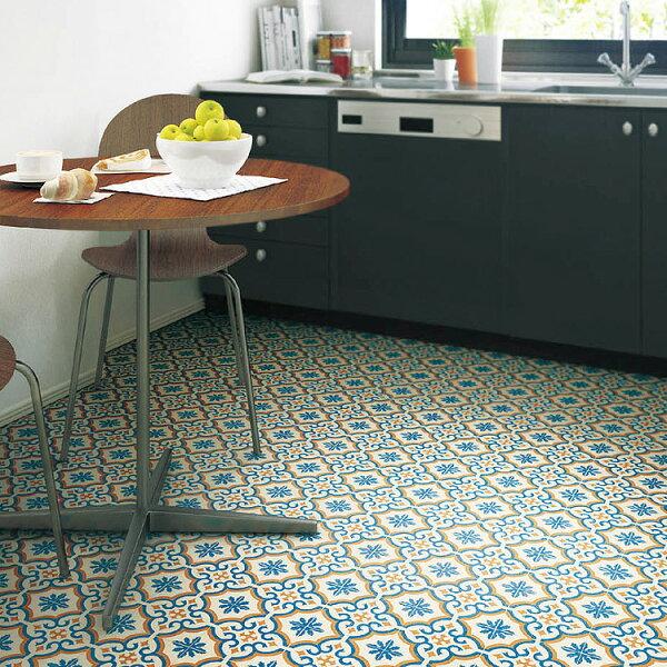 摩洛哥風格地板卷材客廳廚房SE-3131