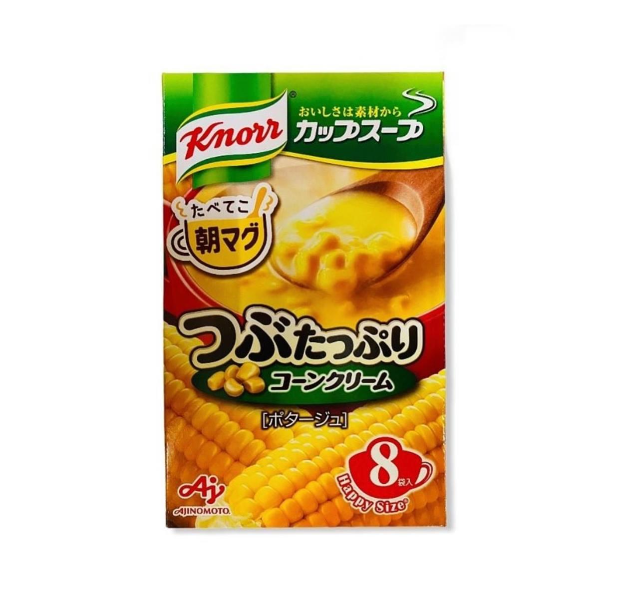 Ajinomoto味之素 Knorr玉米濃湯系列-顆粒玉米 8袋入