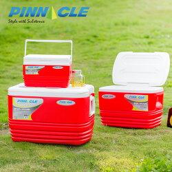 PINNACLE冰桶組-藍/紅 (57L+33L+11L 戶外冰桶/露營用/BBQ