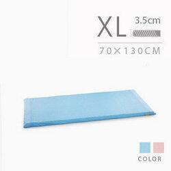 媽咪小站 嬰兒乳膠加厚美規床墊專用(藍/粉)70*130*3.5cm(XL)