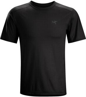Arcteryx 始祖鳥/登山排汗衣/排汗T恤 Ether 男款 短袖排汗衣 12529 黑