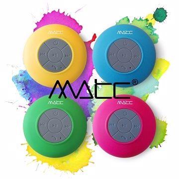 <br/><br/>  【MATC】MA-S130BT 繽紛馬卡龍 防水藍芽無線多媒體音箱 [天天3C]<br/><br/>