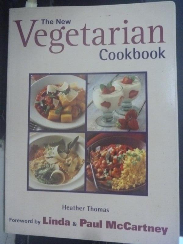 ~書寶 書T8/餐飲_QJL~The New Vegetarian Cookbook_He