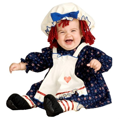 Rubies Costume Co 33328 Yarn Babies Ragamuffin Dolly Infant Costume Size Small