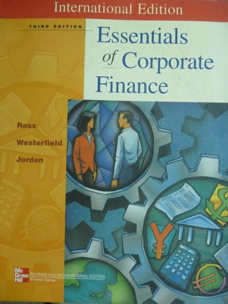 【書寶二手書T4/大學商學_QHF】Essentials of Corporate Finance_Ross_3/e