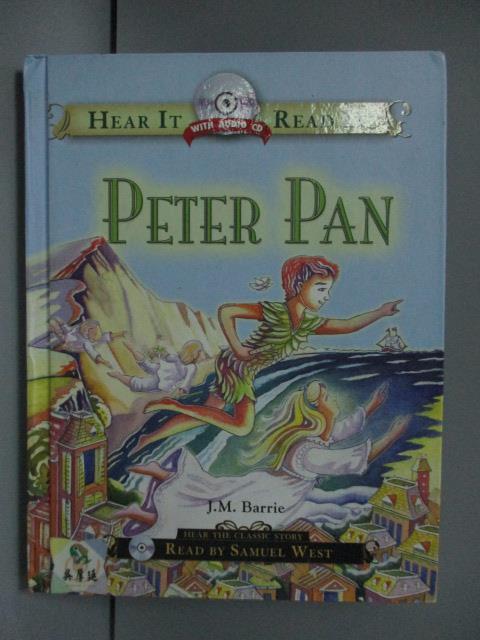 【書寶二手書T1/語言學習_LGS】Peter Pan_Naxos of America, J.M. Barrie_附光碟