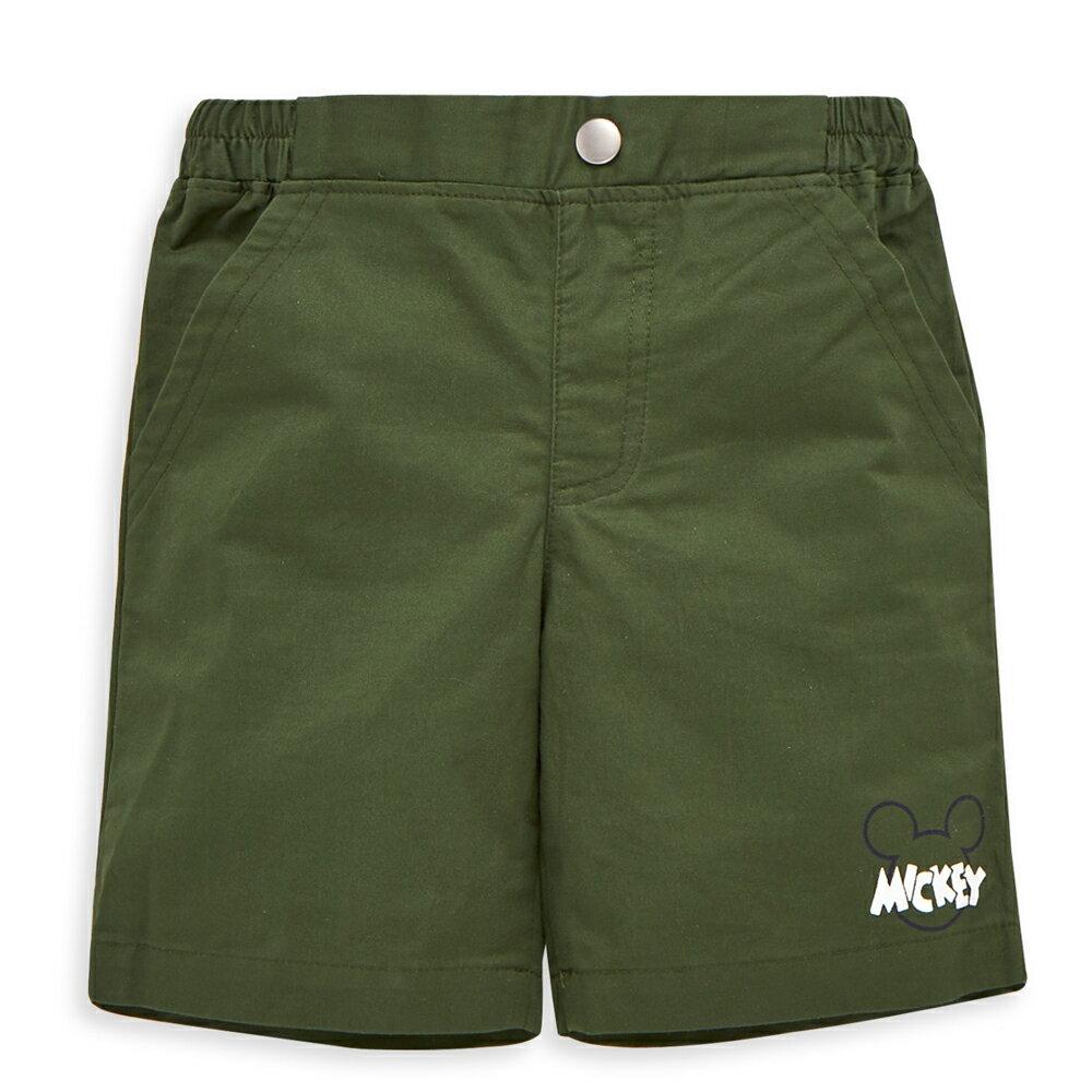 Disney 米奇系列好動短褲 - 軍綠