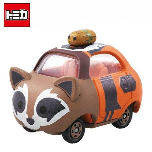 【日本正版】TOMICA 多美小汽車 TSUM TSUM 漫威英雄 星際異攻隊 火箭浣熊 TOP 玩具車 - 889243