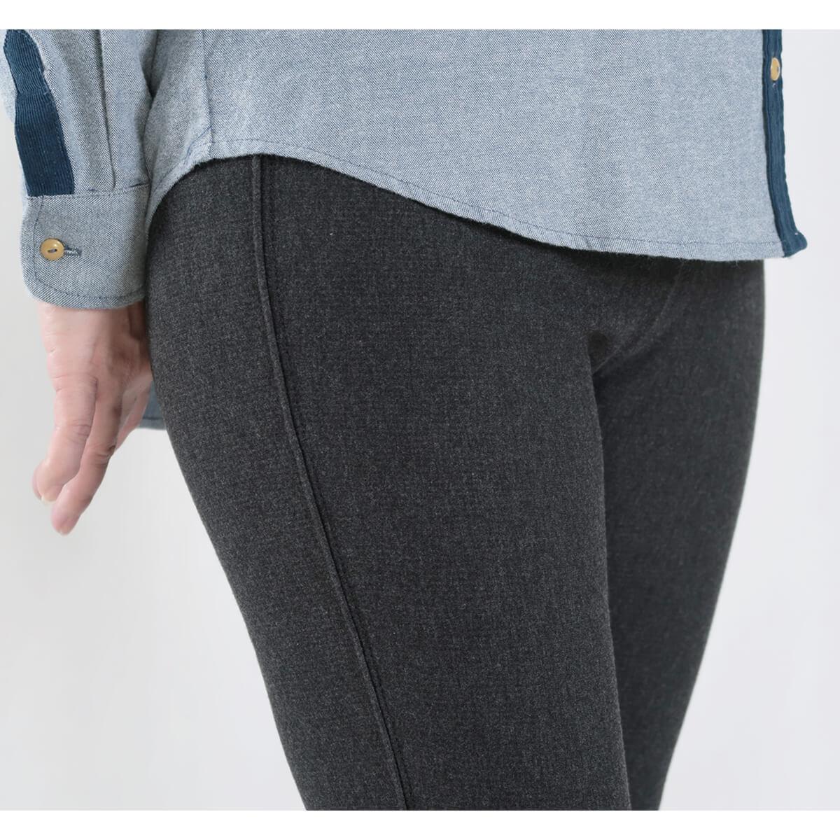 超保暖刷毛內搭褲 台灣製內搭褲 超彈力內搭褲 精絲保暖褲 修身顯瘦長褲 內裡刷毛 全腰圍配色寬版鬆緊帶 黑色長褲 MADE IN TAIWAN WARM PANTS FLEECE LINED LEGGINGS (012-6100-21)黑色、(012-6100-22)深灰色 腰圍M L XL(26~31英吋) 女 [實體店面保障] sun-e 5