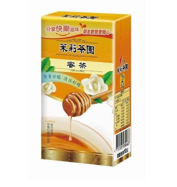 光泉茉莉茶園-茉莉蜜茶300ml(24入/箱) 【合迷雅好物商城】