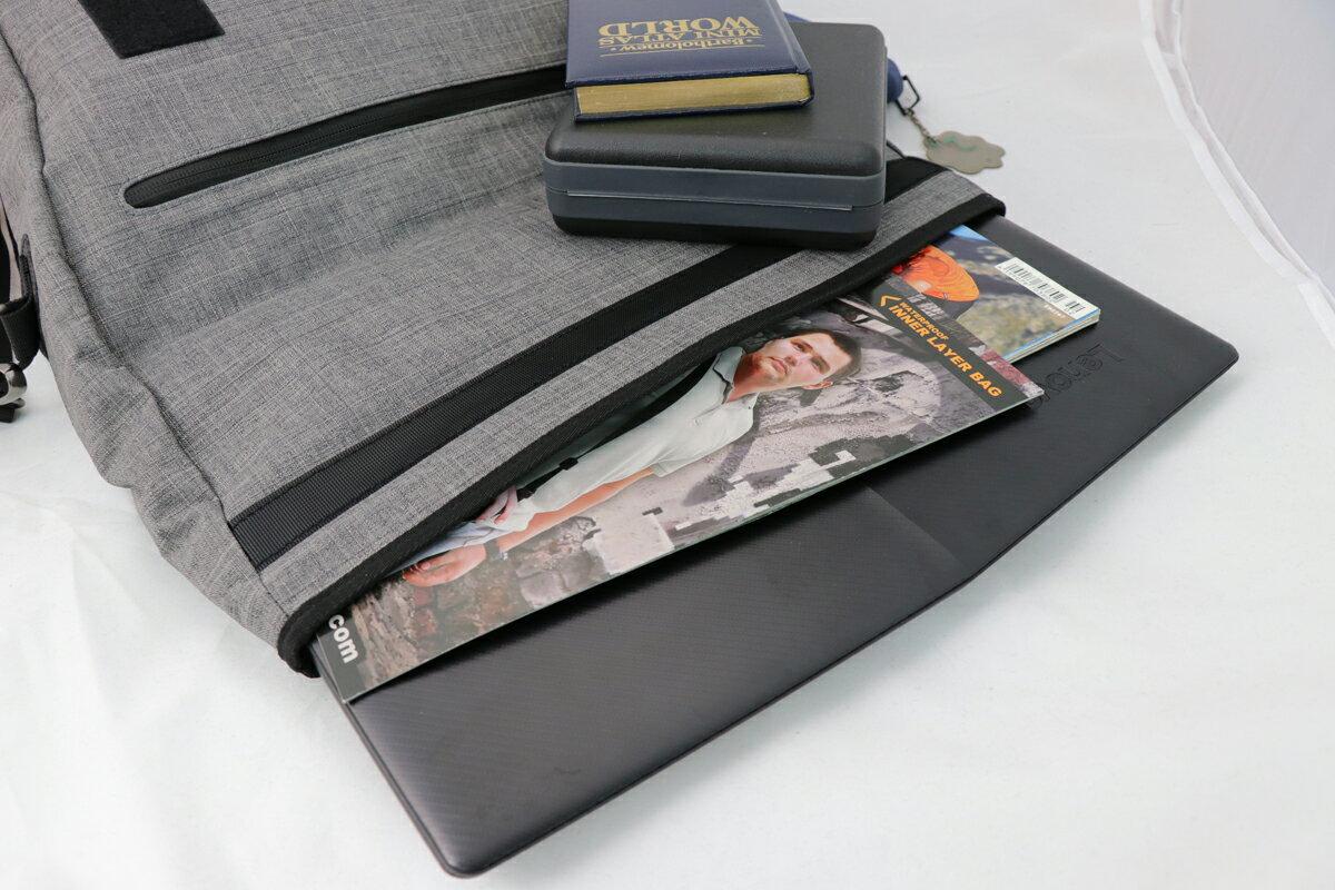 【N-5214】Niche 防水三用郵差包 防水背包 防水袋 戶外休閒背包 都會電腦包 袋子尺寸:43 x 35 x 9.5 公分 2