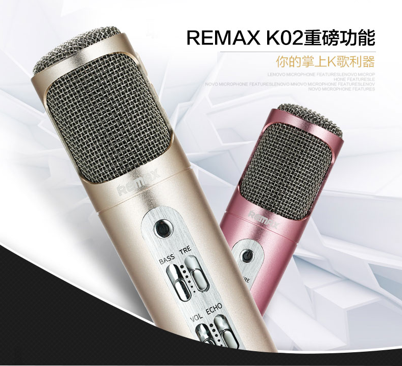 ^~Remax^~ K歌麥克風 ^(RMK~K02^)