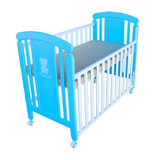 Mam Bab夢貝比 - 親親熊嬰兒床 台規中床 + 蝴蝶寢具八件組 加贈3D透氣床墊! 1