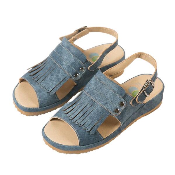 洋森生活-MIT流蘇簡約機能涼鞋-2色#YS802
