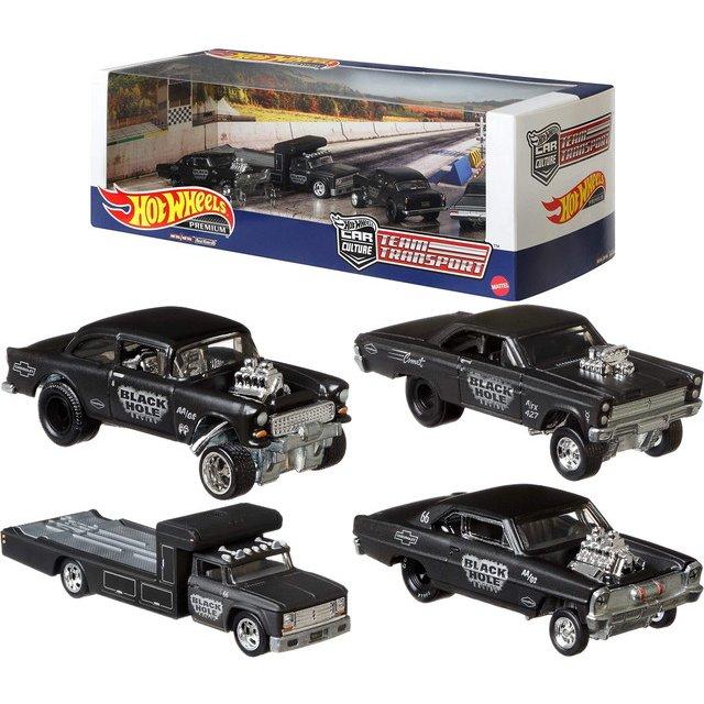 《風火輪Hot Wheels》 Premium Black Hole Gasser Collector Set 東喬精品百貨