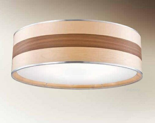 木皮燈罩吸頂燈