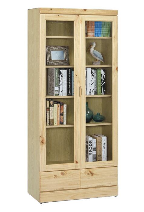 【尚品傢俱】 ※自運價※ Q-GF-E03 松木實木3x6尺下抽書櫃/ 書櫥
