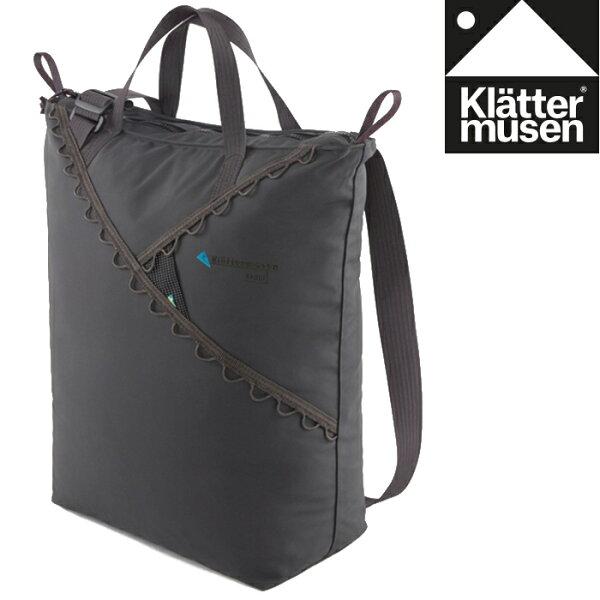 Klattermusen攀山鼠瑞典攀登鼠手提側背包手提袋購物袋托特包Baggi22LKM40369U渡鴉黑R