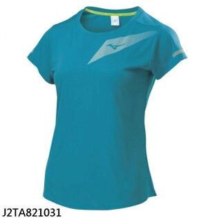 【登瑞體育】MIZUNO女款路跑短袖T恤_J2TA82103