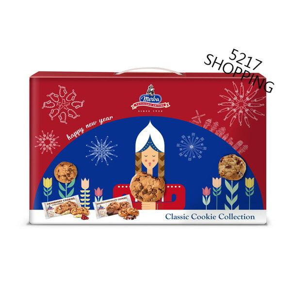 摩巴餅乾禮盒 雙層巧克力 白巧克力蔓越莓 5217SHOPPING