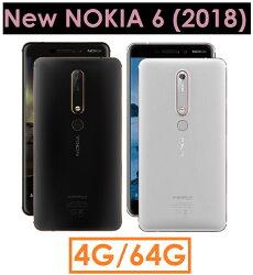 【原廠貨 分期0利率】諾基亞 New NOKIA 6.1 八核心 5.5吋 4G/64G 4GLTE 智慧型手機●雙卡雙待●指紋辨識●NOKIA6(2018)