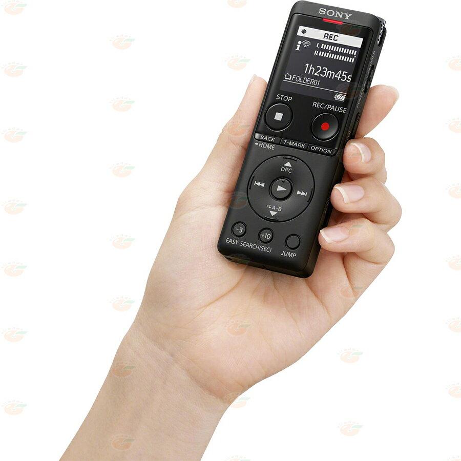 附原廠攜行袋 SONY ICD-UX570F 錄音筆 公司貨 內建4GB容量 可作收音機 48g UX570