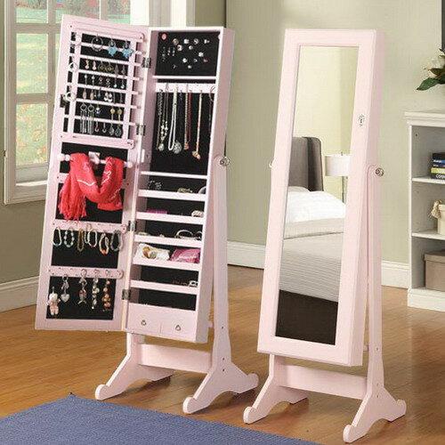 《C&B》思薇亞夢幻穿衣鏡首飾收藏鏡櫃-韓國鏡櫃-現整1000