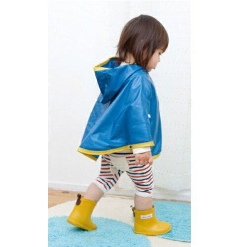 【本月贈鞋墊】日本【Stample】兒童雨鞋(陽光橘) 3