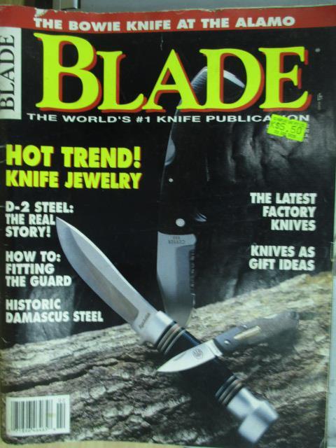 【書寶二手書T1/軍事_PAK】BLADE_HOT TREND!等