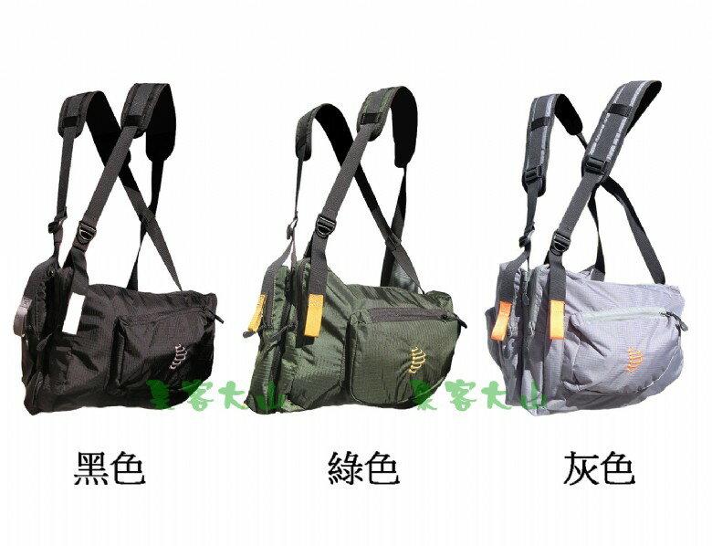 【露營趣】中和 美國 RIBZ 多功能旅行胸前袋 釣魚背心 登山袋 登山背包 媽媽袋 休閒包 GRY-R-1000 GRN-R-1000