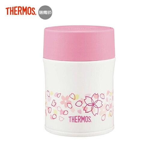 【Thermos 膳魔師】不銹鋼真空保溫食物燜燒罐500ml - 櫻花飛舞篇 0
