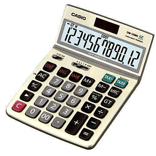 【 CASIO】 卡西歐 計算機 商務專用 12位數 符合人體工學 正品 DW-120MS