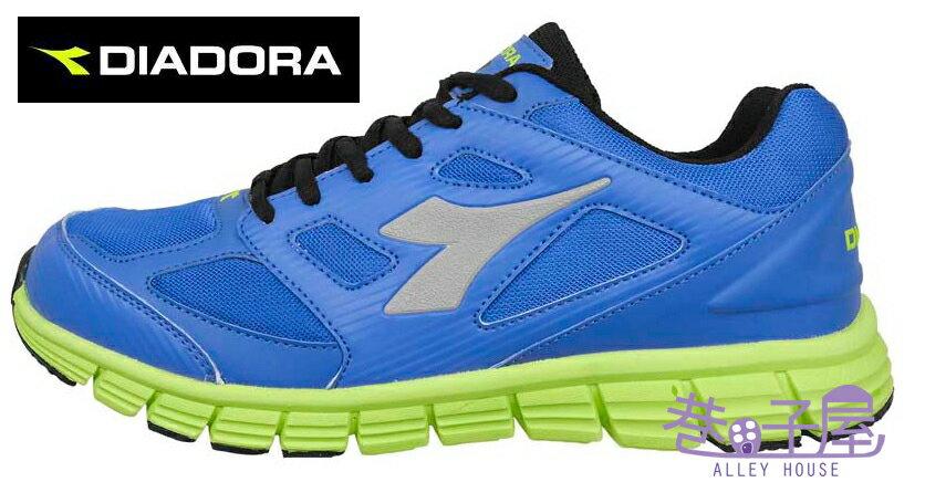 【巷子屋】義大利國寶鞋-DIADORA迪亞多納 男款D楦頭超輕炫彩慢跑鞋 220g [3006] 藍 超值價$756
