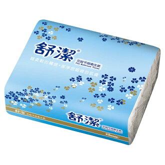 【GoodFamily】舒潔花紋平板衛生紙400張/48包